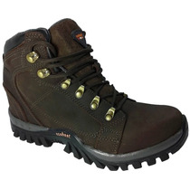 Coturno Bota Adventure Stilo Macboot Lobo Da Montanha Couro