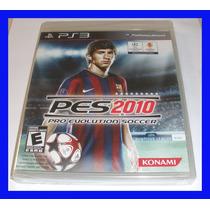 Pes 2010 Ps3 Playstation 3 Novo Lacrado