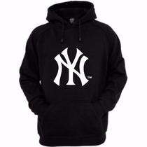 Blusa Moleton New York Yankees Baseball