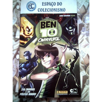 Álbum Figurinhas Ben 10 Omniverse 2014 - Completo Para Colar