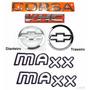 Emblemas Corsa Sedan Vhc Maxx - 2003 À 2007- Modelo Original