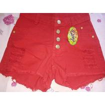 Shorts Jeans Coloridos 45 Reais