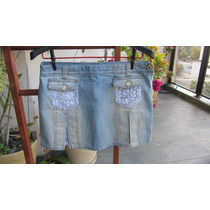 Saia Jeans Tam 40 D&g Clara, Tenho Farm