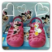 Sandália Disney Crocs Minnie Margarida Grendene 21341