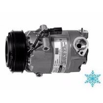 Compressor Ar Condicionado Vw Fox Polo 6pk Original Delphi
