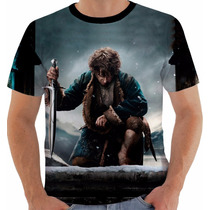 Camiseta Hobbit - Bilbo - Senhor Dos Anéis - Tolkein
