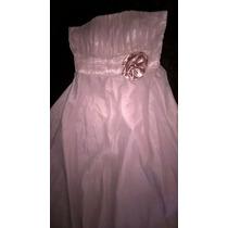 Vestido De Madrinha Ou Formatura - Cor Rosé