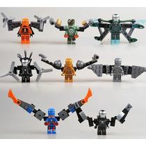 Iron Man Homem De Ferro 8 Armaduras Mk Lego Compatível
