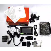 Gps Moto Com Bluetooth A Prova Dágua Orange 430m Avisa Radar