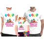 Camiseta - Camisa Personalizada Patati Patatá A3 /kit 3peças