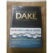 Bíblia De Estudo Dake Preta