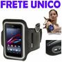 Braçadeira Corrida Capa Armband Nokia Lumia 1320 N1320 4.5¨