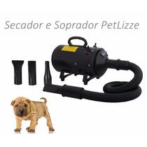 Secador Soprador P/ Petshop Profissional + Frete Gr + Brinde