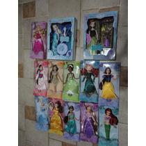 Princesas Disney 10 Bonecas Anna Elsa Canta Frozen Disney