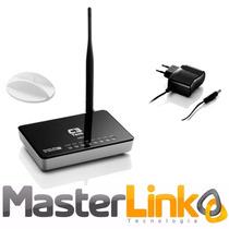Roteador Wireless C3 Tech 150mbps 5dbi 4lan Antena Removível