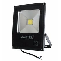 10 Refletor Led 30w Holofote Maxtel Branco Frio /quente Ip66