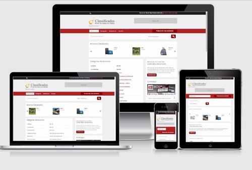 Portal De Classificados Online Responsivo + 8 Layouts Php 94c636602eb4b