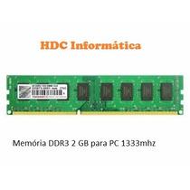 Memória Ddr3 2gb Varias Marcas E Modelos Pronta Entrega