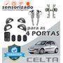 Kit Vidro Elétrico Celta 2007 Para As 4 Portas- Sensorizado