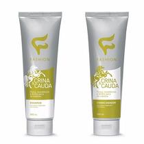 Shampoo Condicionador Crina Cauda Fashion Cosméticos 12 Und