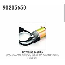 Motor Partida Scooter Dafra Laser 150 - Magnetron