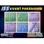 134 Pokémons De Evento: Hoopa, Pikachu, Diancie, Arceus