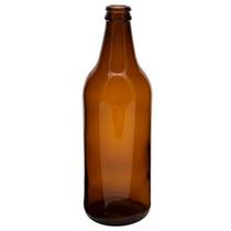 Garrafa Caçula 600 Ml Ambar Para Cerveja Artesanal