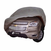 Capa Protetora Para Carros Pickup S10 Com-forro-e-cadeado