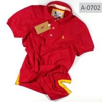 Camisa Gola Polo S|f Masc. Qualidade De Importada Qualidade