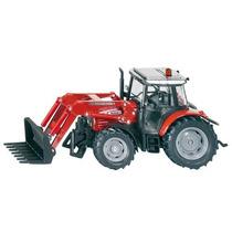 Toy Tractor Agrícola - Siku Massey Ferguson W Carregador 1: