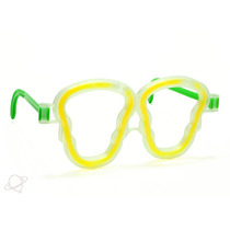 Caixa Com 25 Unidades - Óculos Neon Para Festas