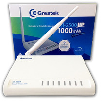 Roteador Wireless Greatek Wr-2500hp 1.000 Mw 150 Mbps 5 Dbi