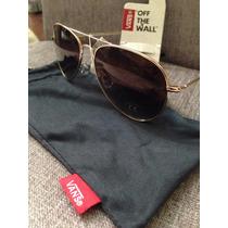 Oculos De Sol Vans Hangar Gold/ Brown Novo