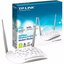 Modem Roteador N Adsl 300mbps Tp-link Td-w 8961n