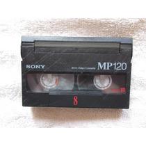 Fita Antiga Sony 8 Mm Mp 120 Video Cassete Ntsc