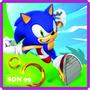 Adesivo Decorativo Quartos Sonic Boom Video Game Jogos 3 M²
