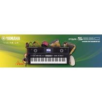 40 Sample Yamaha Psr S650 + De 40 Ritmos Sampleados Promoção