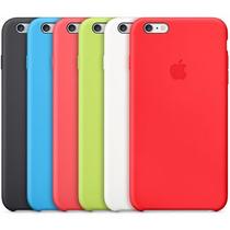 Capa Silicone Apple Iphone 5 X Se 6 6s 7 8 Plus + Pelicula