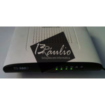 Modem Roteador Wireless Adsl2+ Technicolor Tg580v2 Oi / Gvt