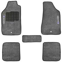 Tapete Saveiro G5 2010/11/12/13/14 Carpete Grafite