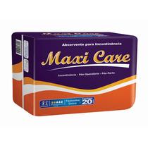 Absorvente Geriátrico Maxi Care T.ún. Com 20 Unidades.