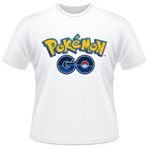 Camiseta Pokemon Go Jogo Anime Desenho Camisa
