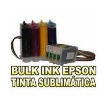 Bulk Ink P/ Epson Mod. Tx200 Tx210 Tx220 Tx300f Tx400 Tx410