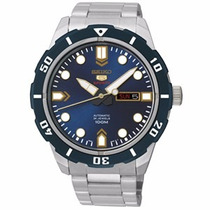 Relógio Seiko 5 Automático Spots 21jewels Srp677b1 D1sx