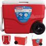 Caixa Termica Grande Coleman 38 Litros Cooler Rodinhas