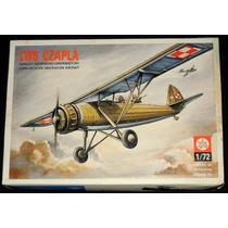 Avião Parasol Polônes Segunda Guerra Lws Czapla Kit 1/72