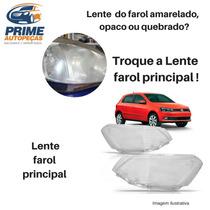 Lente Farol Palio Duplo 99 2000 Lado Direito Acrilico