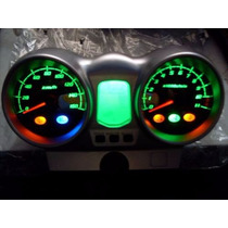 Painel Velocímetro Completo Cbx250 Twister Leds Verde