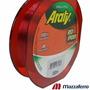 Linha Monofilamento Araty Red Spider - 0,35mm/18,7lb - 300 M