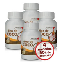 Óleo De Coco Sonatura Com 50% De Desconto Comprando 4 Uni
